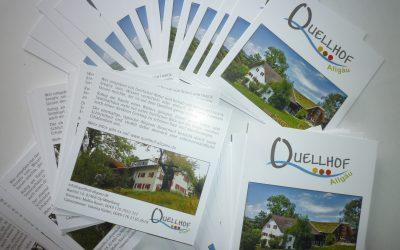 Unsere neuen Flyer sind da