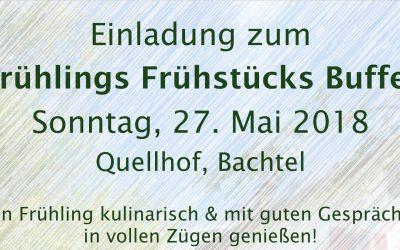 Frühlings Frühstücks Buffet am 27. Mai 2018