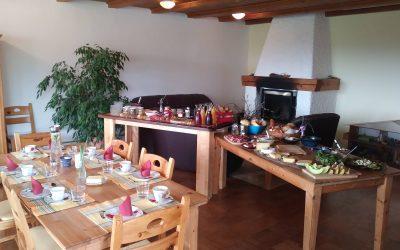Ein voller Erfolg, unser Frühlings-Frühstück-Buffet.