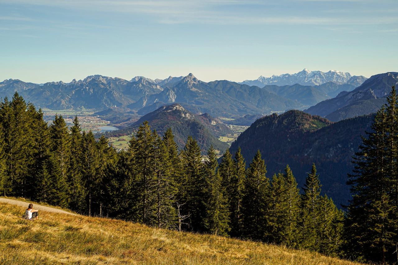 Kleine Wanderung auf den Edelsberg