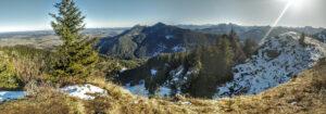 Ausblick vom Abstieg Reuterwanne