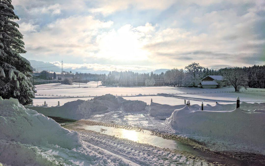 Grüße aus dem Winterwunderland Allgäu
