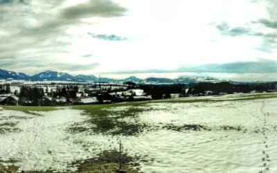 360° Aussicht bei schönstem Frühlingswetter