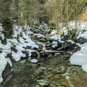 Hängebrücke Höllschlucht