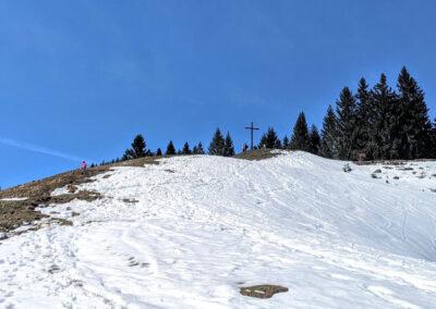 Gipfelkreuz Kappeler Alm